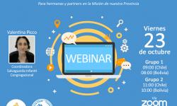 Seminario web sobre la Política de Salvaguarda Infantil