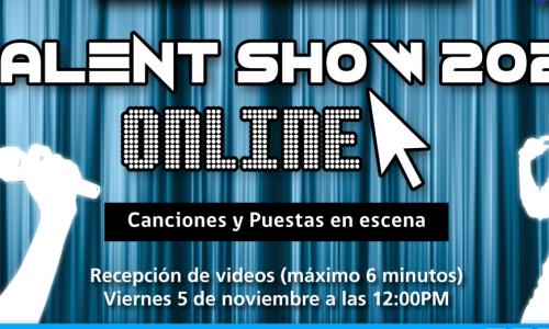 Invitación al Talent Show 2021 online